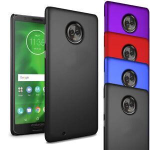 Pour-Motorola-Moto-G6-Slim-Hard-Case-Mince-hybride-couverture-arriere-amp-protecteur-d-039-ecran
