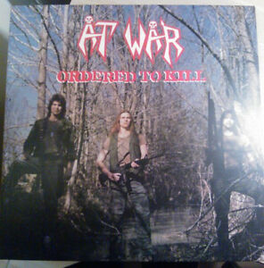 At-War-Ordered-To-Kill-on-Black-Vinyl-LP-High-Roller-Records-2014-NEW