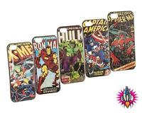 NEW OFFICIAL MARVEL CHARACTER X-MEN AVENGERS SPIDERMAN IPHONE 5 CASE PHONE COVER