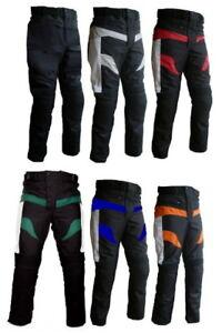 Pantaloni Per Moto In Cordura Da Turismo Con Protezioni Su Ginocchia E Fianchi + Pe8dsb9z-07224705-272857086