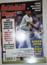 Baseball Digest Magazine Derek Jeter & Alex Rodriguez December 1996 020315R