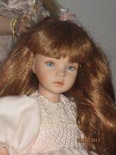"""Pauline Bjonness-Jacobsen Ltd. Edition 12"""" Porcelain Doll ADORABLE CRISP CLEAN"""