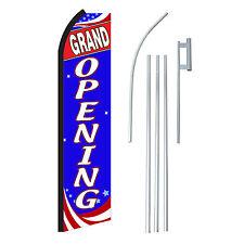 Grand Opening Rwb 15 Swooper Flag Starter Kit Bow Feather Flutter