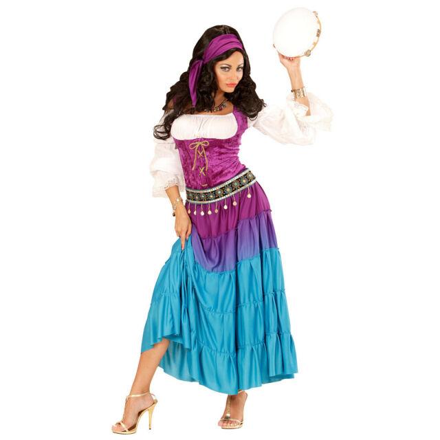 Damen Karneval Fasching Verkleidung Kostüm Serena Hellseherin Damenkostüm NEU