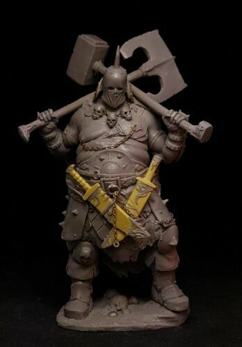 1//24 Scale Resin Figure Model Kit Barbarian Warrior Madax Unassambled Unpainted