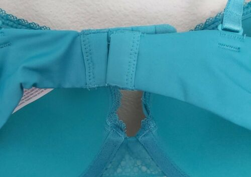 Plunge Pushup Bra Dapper Turquoise NWT Auden Womens 32C The Radiant