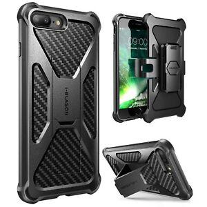 new concept d09f5 cfec4 iPhone 8 Plus Case, i-Blason Transformer Kickstand Combo Holster ...