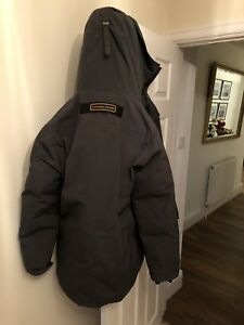 Mens-canada-goose-chateau-parka-xl-jacket-In-Graphite-Used-Genuine