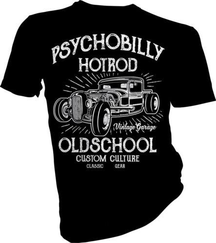 Psychobilly Hot Rod Car Racing Race Adult /& Kids T-Shirt Cars Rock /& Roll