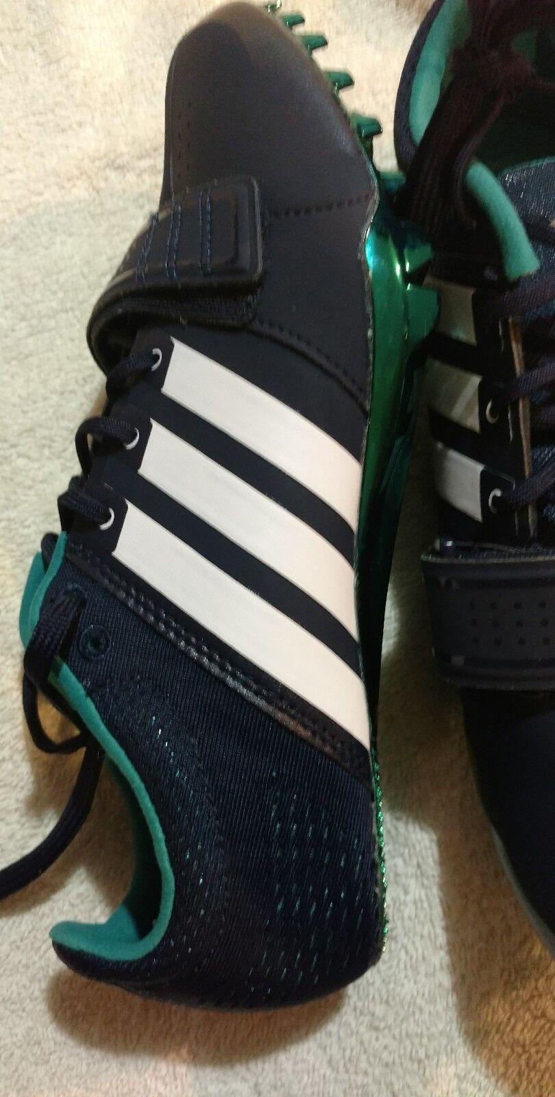 Adidas adizero prime accelerator blau / weiß sprint track 10,5 spikes mens 10,5 track e9f9e3