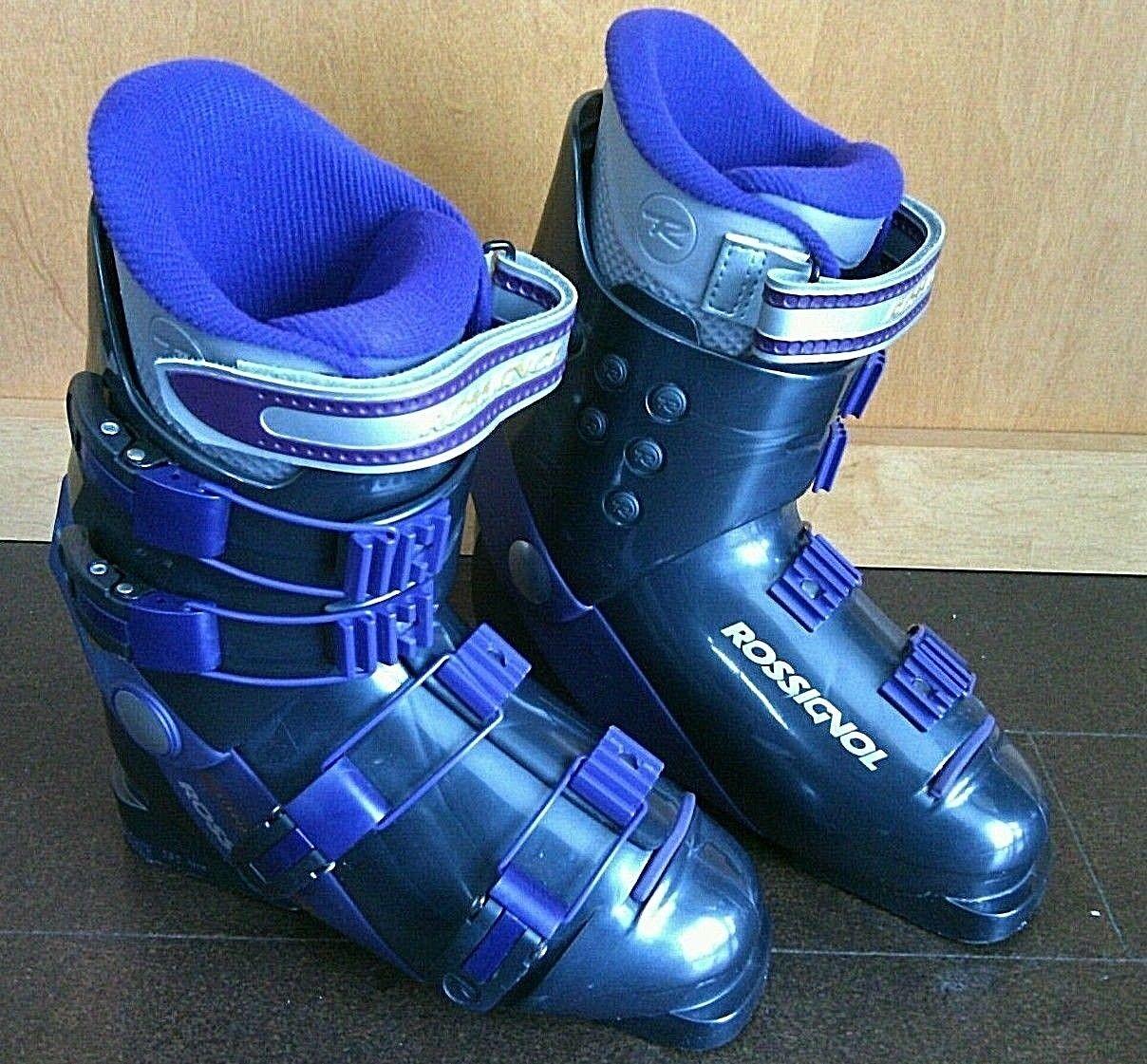 Winter Sports Ski Boots Rossignol  R725 Mondo 24.5 Women's Size 7 BSL 282 mm Fit  on sale 70% off