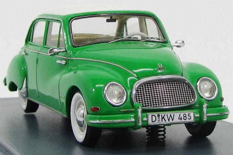 DKW 3=6 F94 4-door 1957 1 43 Neo Neo Neo scale models NEO45085 3dd334