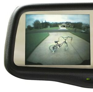 gentex rearview mirror w 3 5 camera display w new backup. Black Bedroom Furniture Sets. Home Design Ideas