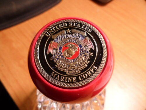 Marine Corp Challenge Coin Pool Ball Shift Knob Jeep YJ and others TJ U.S JK