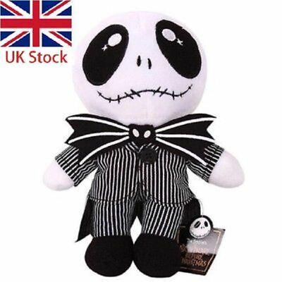 The Nightmare Before Christmas Jack Skellington Plush Stuffed doll toy Xmas  UK