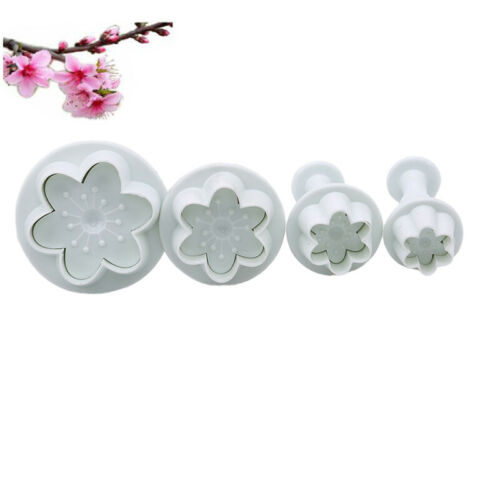 Fondant Cake Decorating Sugarcraft Plunger Cookie Biscuit Cutter Mold Tools LP