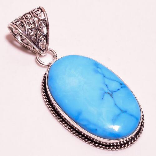 Blue Sleeping Beauty Pierre Turquoise Pendentif livraison gratuite P4