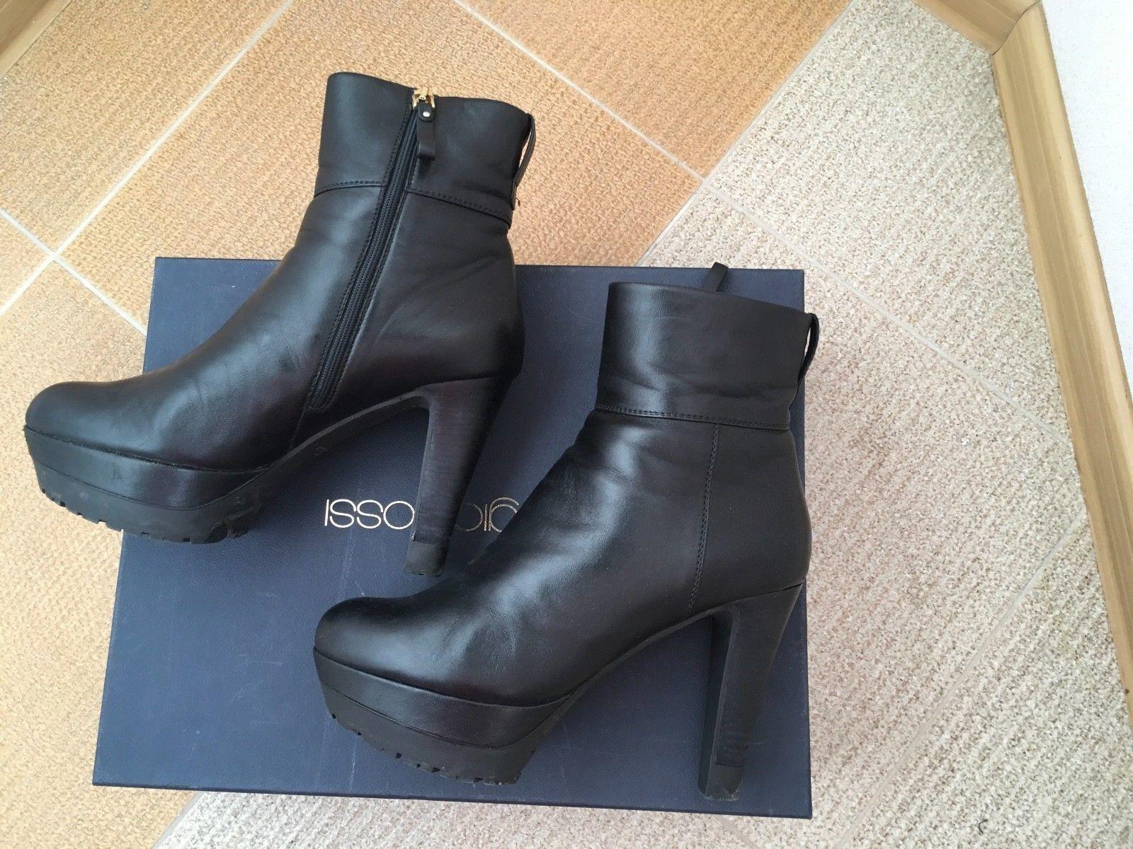 vendita di offerte Sergio Rossi Rossi Rossi Winter Ankle stivali,  40,5  vendita online