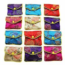 Jewellery Jewelry Silk Purse Pouch Gift Bags Multiple Colors Pack Of Small