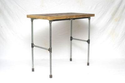 Altholz Upcycling Beistelltisch Stahlrohr Loft Shabby Industrial Tube Table Einfach Zu Verwenden