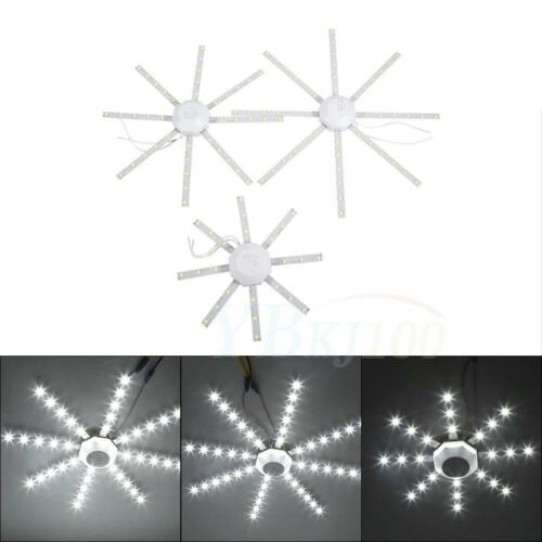12//20//24W Snowflake Round 5730SMD LED Ceiling Panel Down Lights Bulb Lamp 220V