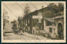 Sondrio Passo Aprica Cantoniera cartolina QQ7777