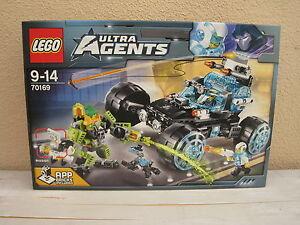 Lego Ultra Agents - La Patrouille des Agents 70169 Neuf et scelle - Sealed MISB
