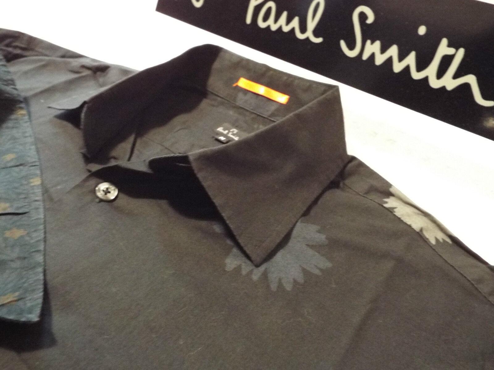 Paul Smith Da Uomo Camicia  Taglia M (circonferenza petto 42 )  RRP +  Astratto Floreale