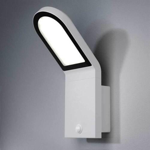 Osram LED Wandleuchte Außen Endura Style Wall Sensor weiß 12W warmweiß IP44