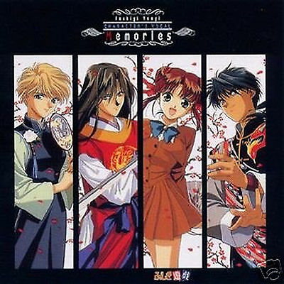 Fushigi Yuugi ANIME SOUNDTRACK CD JAPAN Character vocalist memory