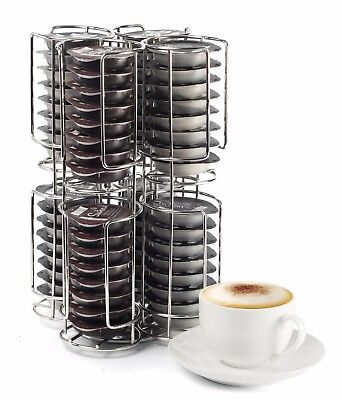 Revolving Coffee Pod Holder Capsule Stand for Tassimo, Nespresso & Dolce Gusto