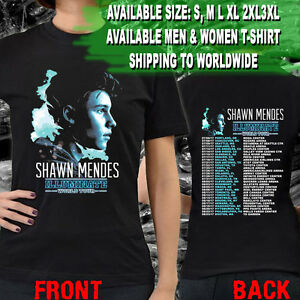 New-SHAWN-MENDES-Illuminate-World-Live-Tour-Dates-2017-Tee-T-Shirts-S-3XL-Size