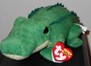 c5475b5d331 Ty Beanie Boos - SPIKE the Alligator   Crocodile (11 Inch Long) NEW ...