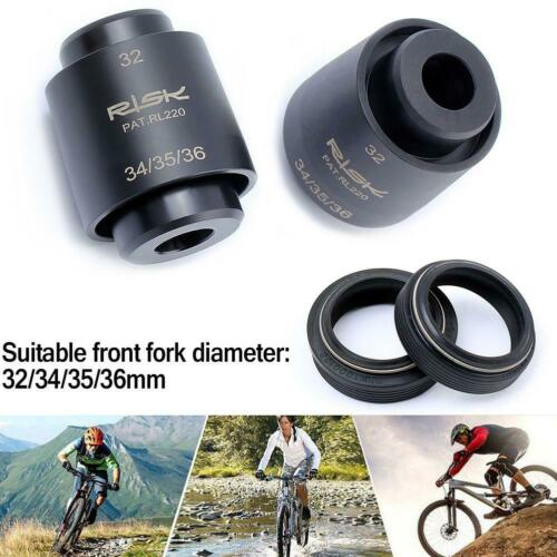 1x Bicycle Front Fork Dust Seal Installation Tools Kits For Fox Rockshox Pipe