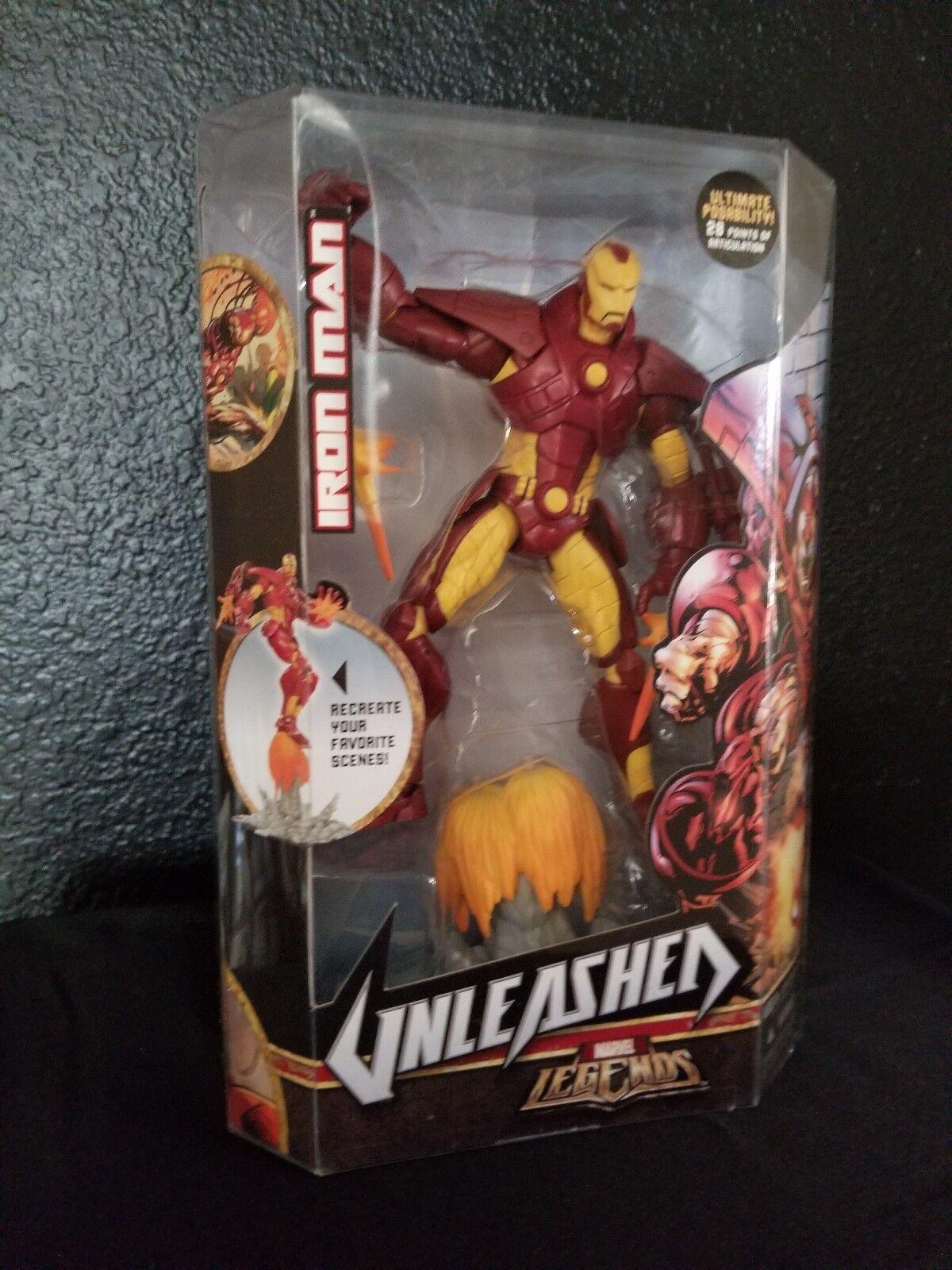 Iron man - entfesselt stark rstung 2008 marvel - legenden 8.