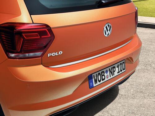 Original VW Polo VII Schutzleiste für Heckklappe Chromoptik 2G0071360 NEU