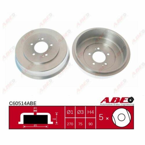 Bremstrommel 1 Stück ABE C60514ABE