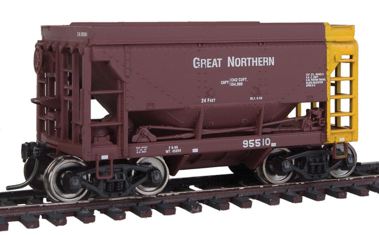 Scala H0 - Set MINERALI CAR Great Northern 4 VAGONE - 58060 NEU