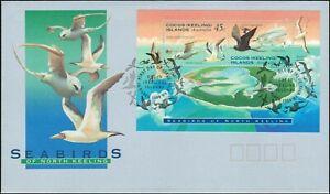 1995-COCOS-KEELING-ISLANDS-Sea-Birds-M-S-FDC