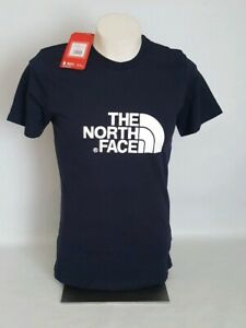 b2502ca22 Details about Mens The North Face Short Sleeve Urban Navy Easy Tee T-Shirt  Size S 🌟GENUINE🌟