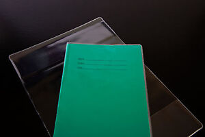 50-x-clear-plastic-A5-size-SCHOOL-EXERCISE-BOOK-COVERS-210mm-x-300mm