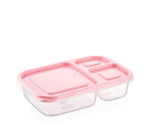1.15 LITER 3 Compartment Food Storage Three Divided storage box Travel Box