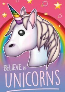 Unicorn  Poster Print A4 260gsm