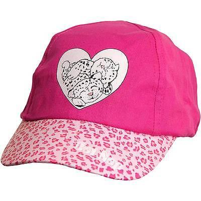 Simbolo Del Marchio Baby Ragazze Giovani Carino Leopardo Novità Sole Estivo Cappellino Rosa Bianco-