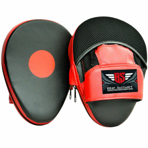 Be Smart Gel Focus Pad Hook /& Jab Mitt Boxing Punch Glove MMA Muay Thai Kick