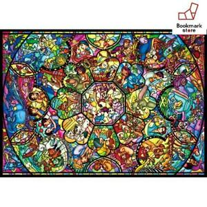 New-Disney-2000-Jigsaw-Puzzle-All-Star-Stained-Glass-73x102cm-F-S-from-Japan