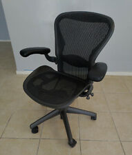 Herman Miller Aeron Office Chair Size B With Lumbar Support Ex Condition