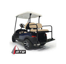 Club Car Precedent Golf Cart GTW Flip Flop Rear Seat Kit Fold Down Back