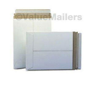 100-MAILERS-50-9x11-5-25-Ea-6x8-7x9-PHOTO-STAY-FLATS