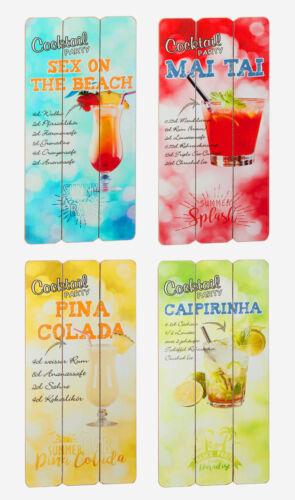 Holzschild 30 x 60cm Cocktail Party Bar Strand Wand Design Dekoration Summer